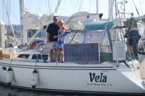 Crew of Vela - July 2009. Photo by Chris Scott.