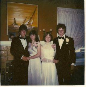 Alameda High School Junior Prom 1981