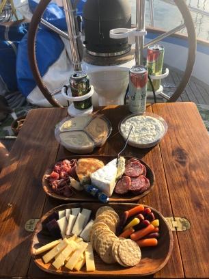 Cockpit appetizers