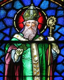 800px-Saint_Patrick_Catholic_Church_(Junction_City,_Ohio)_-_stained_glass,_Saint_Patrick_-_detail.jpg
