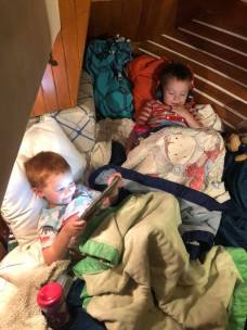 GrandBoys in their Bunk